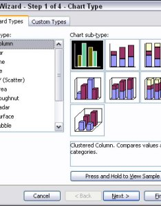 Figure selecting  column chart also using columns and bars to compare items in excel charts dummies rh