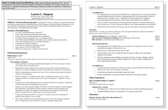 target employee resume sample