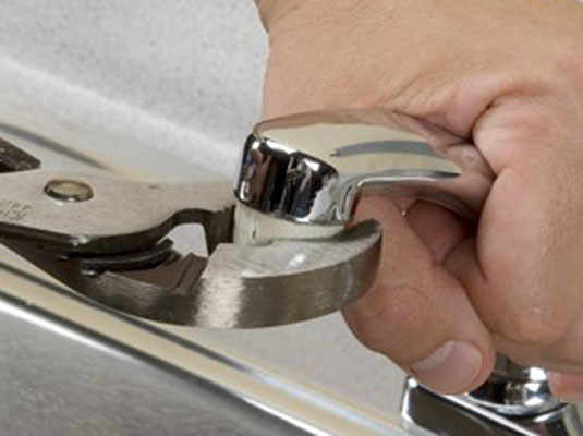 unclog kitchen drain cabinet sales how to clean a faucet aerator and sink sprayer - dummies