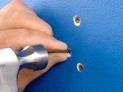 fix nail pops in walls