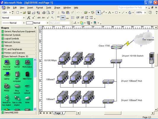 telecom network diagram microsoft 6 ohm subwoofer wiring diagrams planning drawing dummies image0 jpg