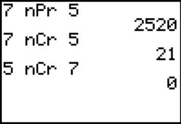 Npr Probability Formula