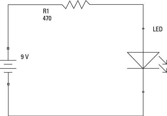 simple circuit parts