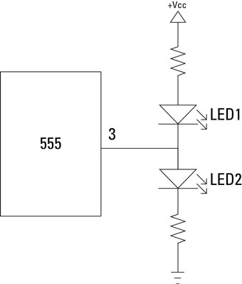 Electronics Components: How to Use the 555 Timer Output