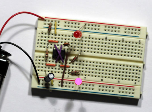 Of Things To Make With The 555 Timer Ic With A Note For Each Picture