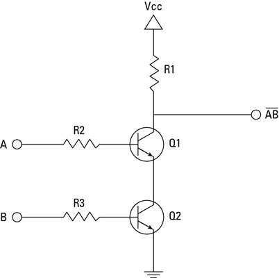 Electronics Projects: How to Create a Transistor NAND Gate