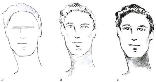 Hairstyles Drawing Men