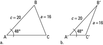 How to Solve a Triangle When You Know Two Consecutive Side