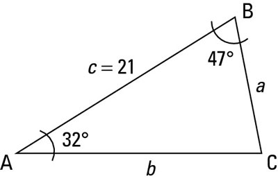 How to Solve a Triangle When You Know Two Angle Measures