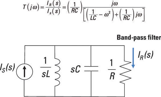 Create Band-Pass and Band-Reject Filters with RLC Parallel