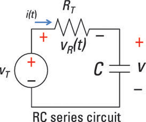 Analyze a Series RC Circuit Using a Differential Equation