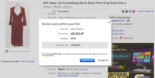How to Bid on an eBay Auction  dummies