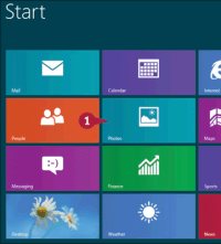 Navigate the Windows 8 Pictures Library - dummies