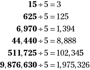 Identifying Divisibility by Looking at the Final Digits