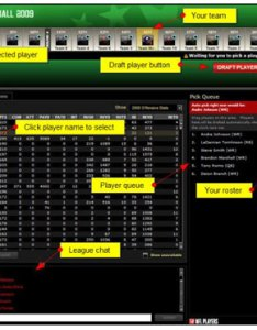 Snake draft demo also understanding fantasy football and auction drafts dummies rh
