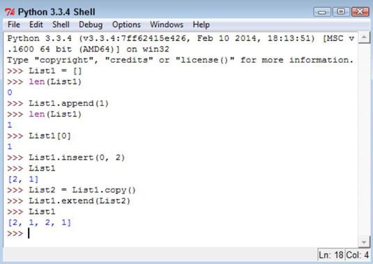 How to Modify Lists in Python - dummies