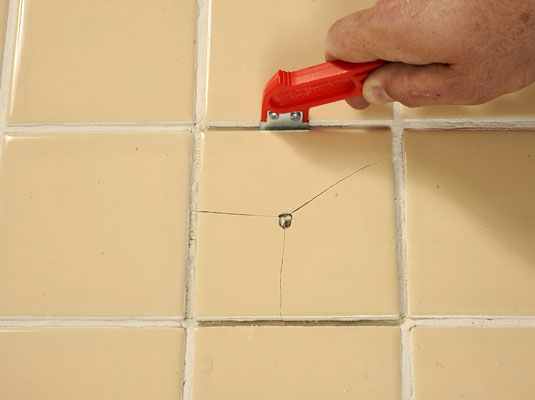 How to Replace Broken Ceramic Tile  dummies