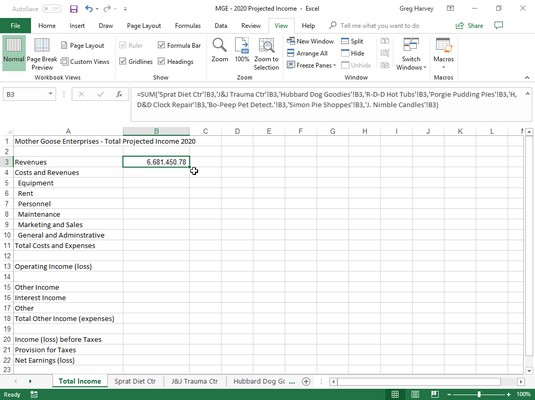 How To Create An Excel Summary Report
