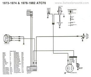 Atc 70 Wiring Diagram  Honda 70 talk  Dumont Dune Riders