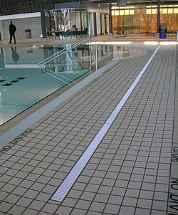 Pool Deck Drains  Dumoore Systems