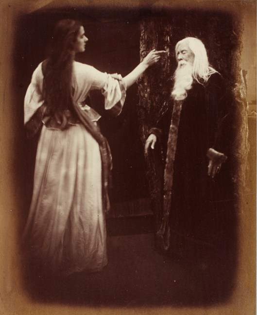 Julia Margaret Cameron's Viven and Merlin