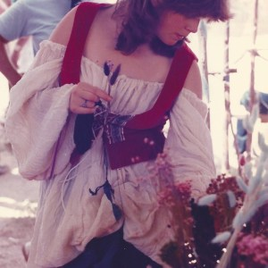 Me as a teen in Rennaissance Faire garb