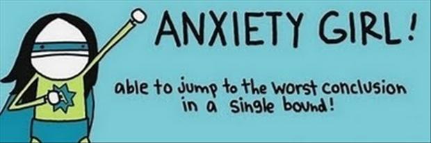 Risultati immagini per anxiety funny