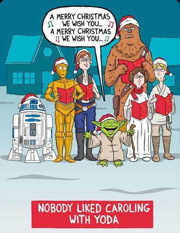 Christmas Memes Wars Santa Star