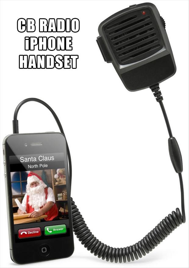 CB Radio iPhone Handset, christmas gift ideas
