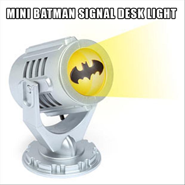 mini batman bat signal, stocking stuffers