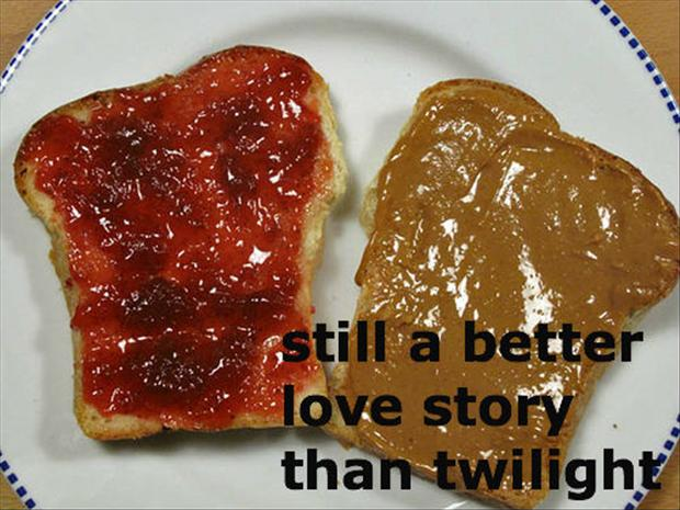 peanut butter and jelly, still a better love story than twilight