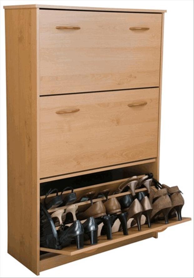 shoe rack, smart ideas