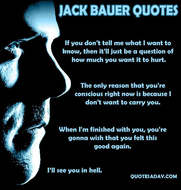 Jack Bauer Funny Quotes: Celebrity Quotes Celebrity Quotes