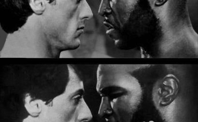 A Funny Pictures Rocky Balboa And Mr T Dump A Day