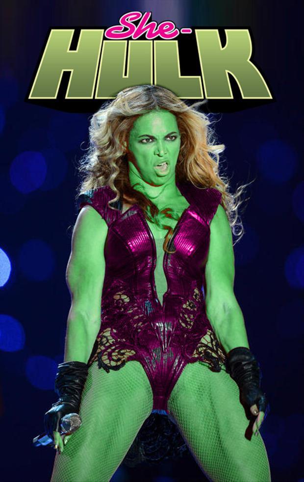 beyonce, she hulk