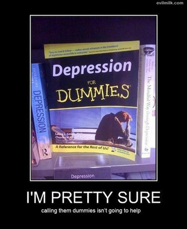funny demotivational posters, dumbies