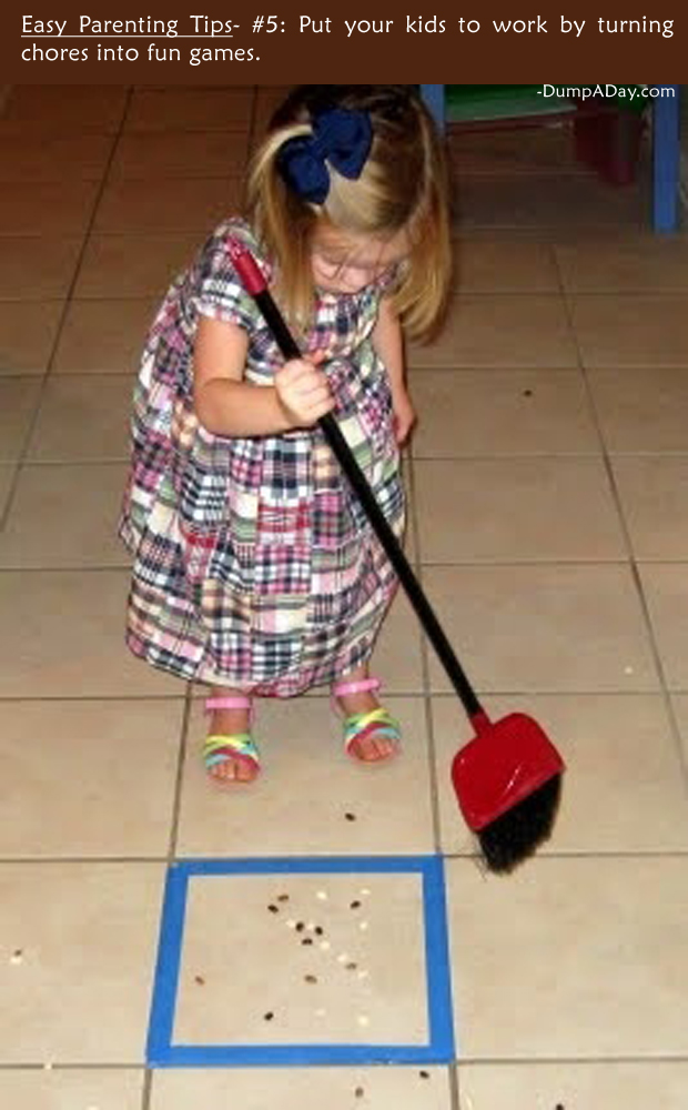 Easy Parenting Tips 5- Chores