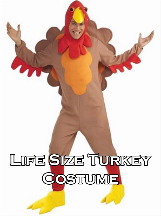 tight costume turkey