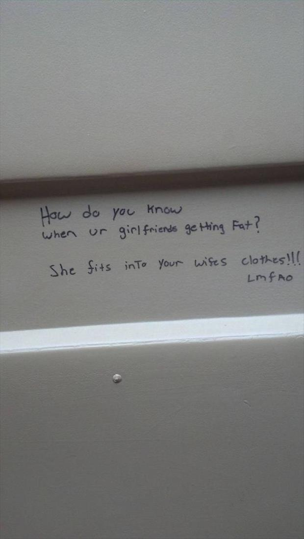 Stall Wall Wisdom At Its Finest  28 Pics