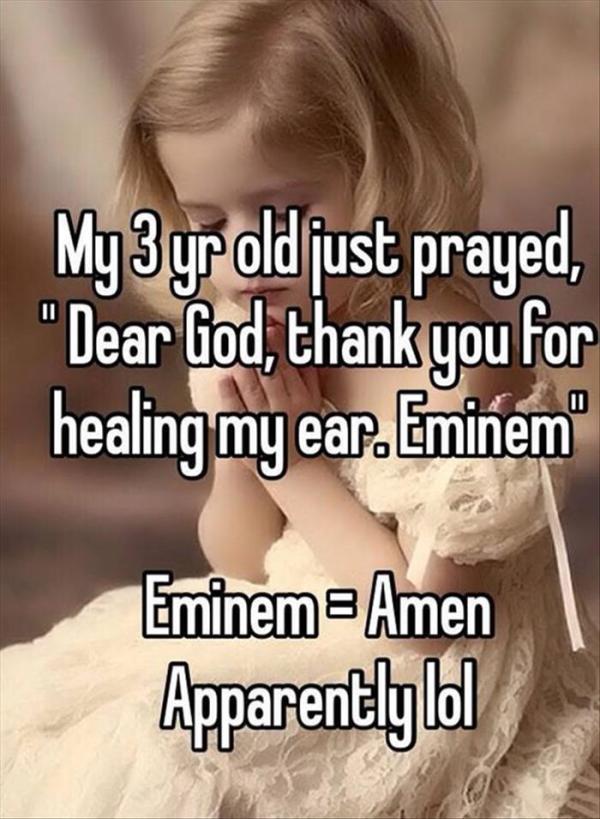 funny prayers