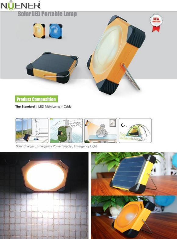 Nuener N1 Portable Solar Camping Lamp
