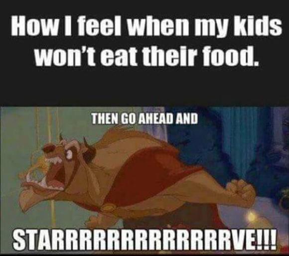 a kid won't eat