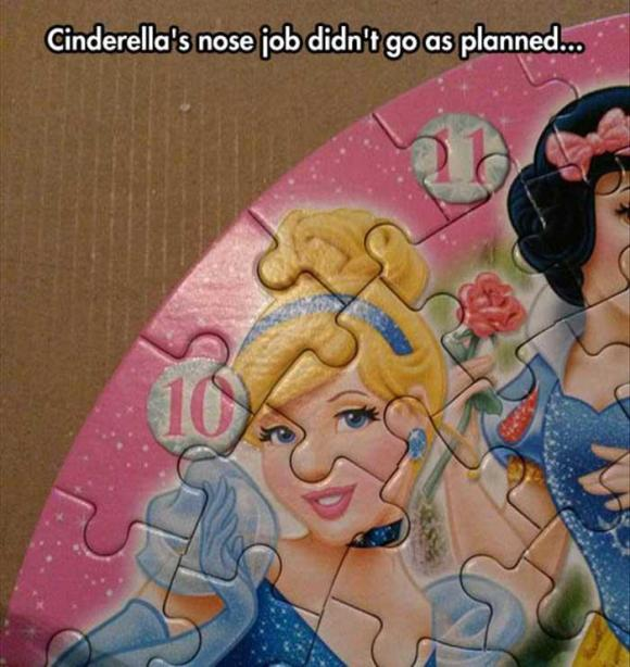 funny nose job