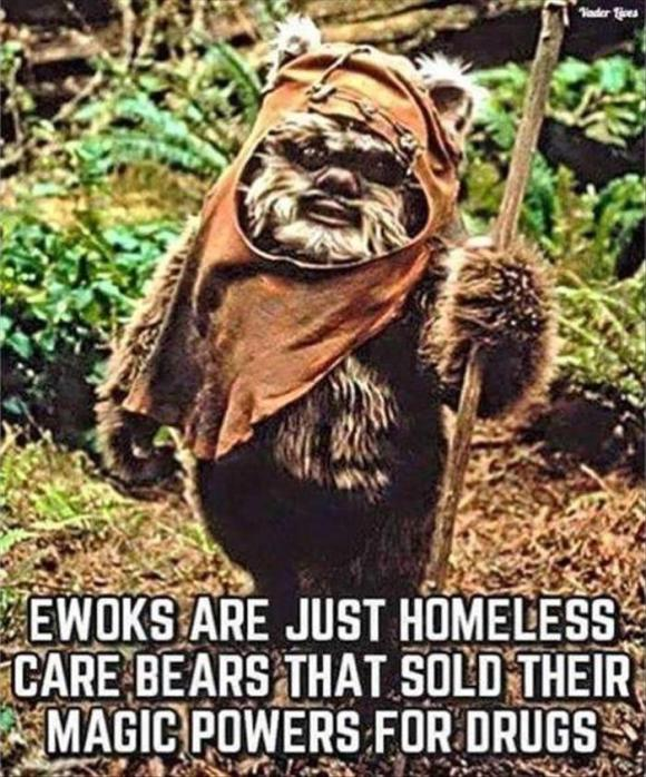 this is what ewoks are for