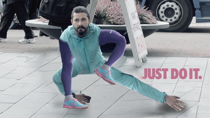 Yoga Quotes Wallpaper Shia Labeouf Proves When You Wear Purple Yoga Pants The