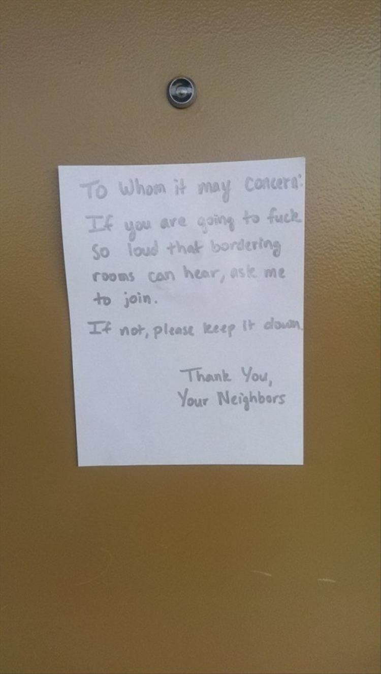 So Much For The Love Thy Neighbor Thing  16 Pics