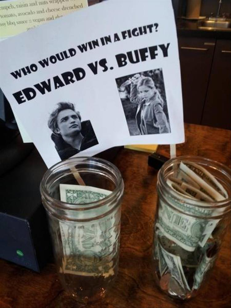 Businesses Are Getting Really Creative With Their Tip Jars