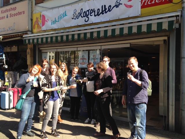opening pop-up shop de Slagerette