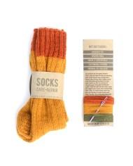 gele sokken
