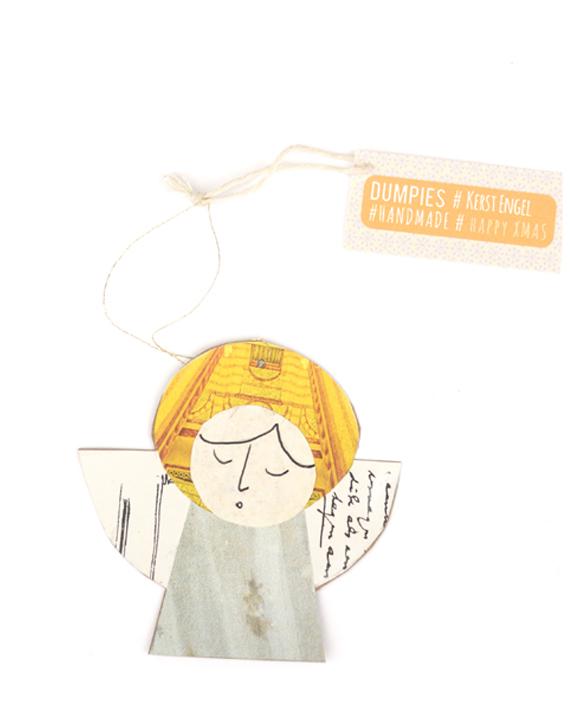 engel papier decoratie